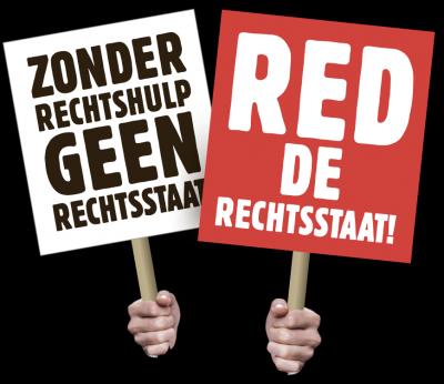 Actie-icoon Red de rechtsstaat - Web JPG
